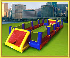Sioux Falls inflatables Human Foosball bouncer